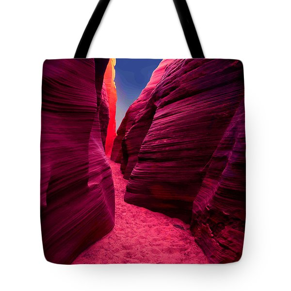 Desert Maze Tote Bag