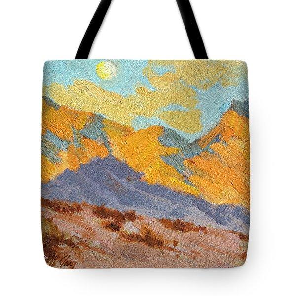 Desert Morning La Quinta Cove Tote Bag