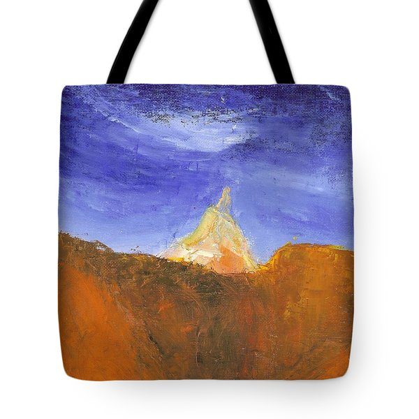 Desert Mountain Canyon Tote Bag