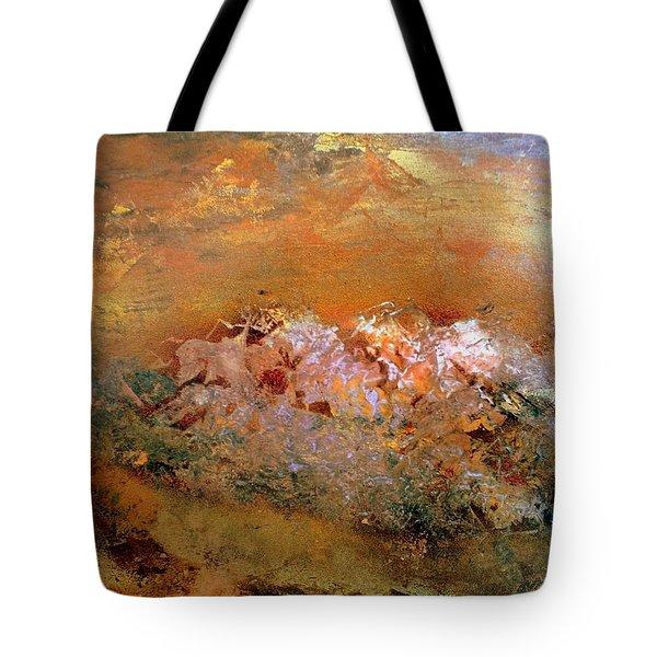 Desert Mountains Tote Bag