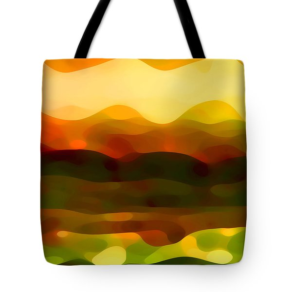 Desert Pattern 2 Tote Bag by Amy Vangsgard
