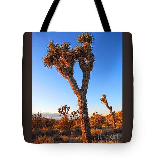 Desert Poet Tote Bag