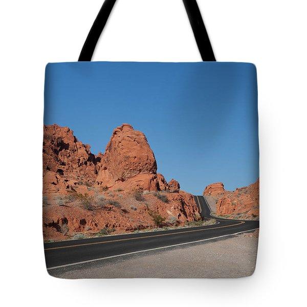 Desert Rock Formations Tote Bag