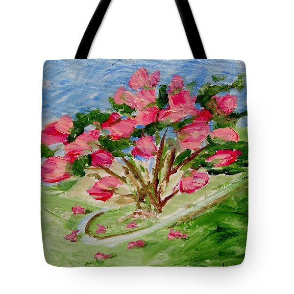 Desert Rose Abstract Tote Bag by Jamie Frier