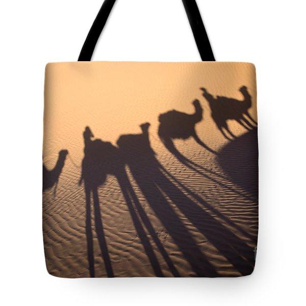 Desert Shadows Tote Bag