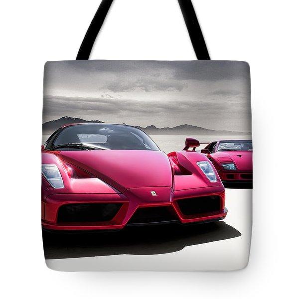 Desert Showdown Tote Bag