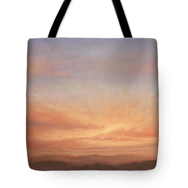 Desert Sky Triptych Tote Bag