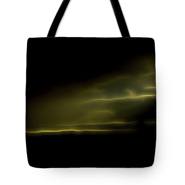 Tote Bag featuring the digital art Desert Spotlight by William Horden