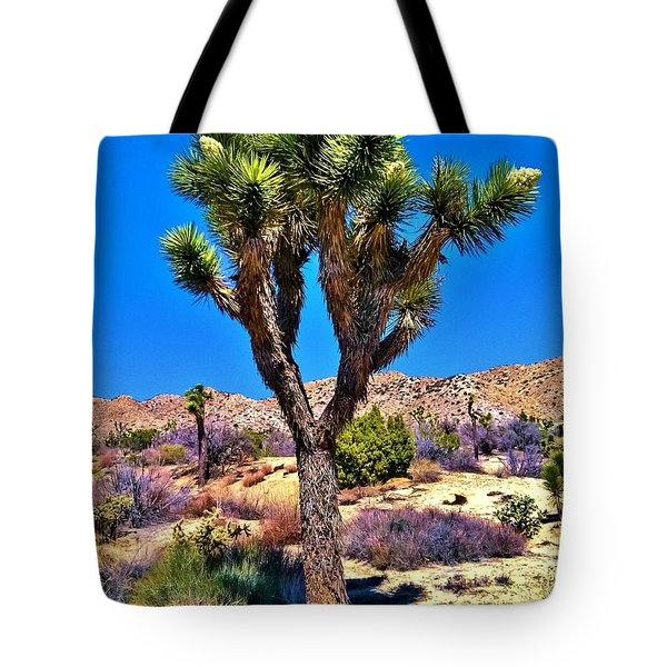 Desert Spring Tote Bag by Angela J Wright