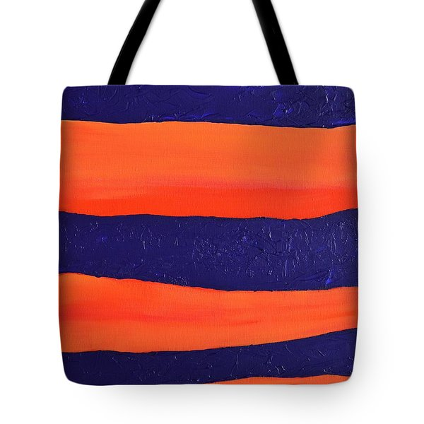 Desert Streams Tote Bag by Donna  Manaraze