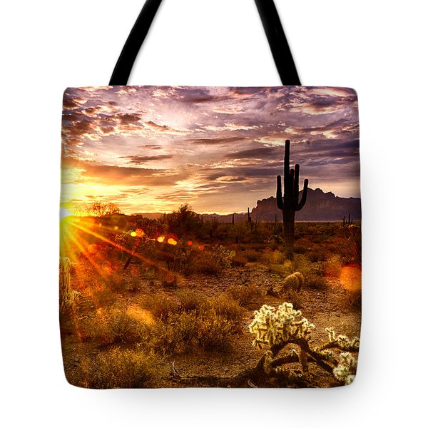 Desert Sunshine  Tote Bag