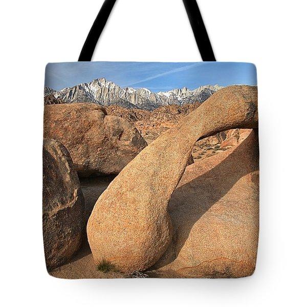 Desert Telephone Tote Bag