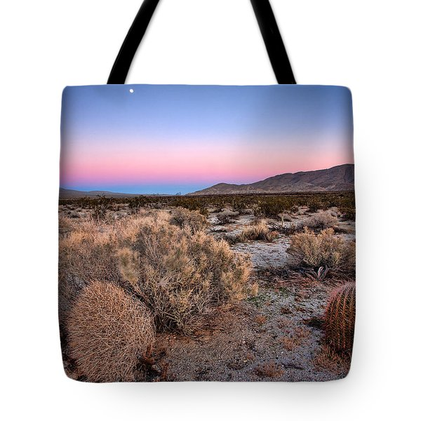 Desert Twilight Tote Bag