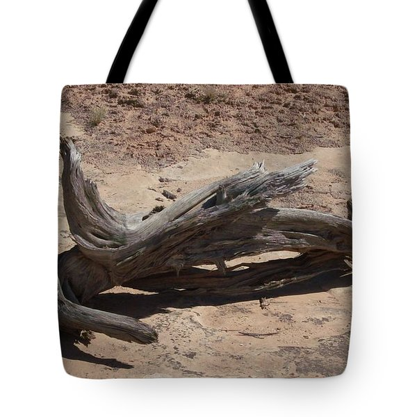 Tote Bag featuring the photograph Desert Wildwood by Fortunate Findings Shirley Dickerson