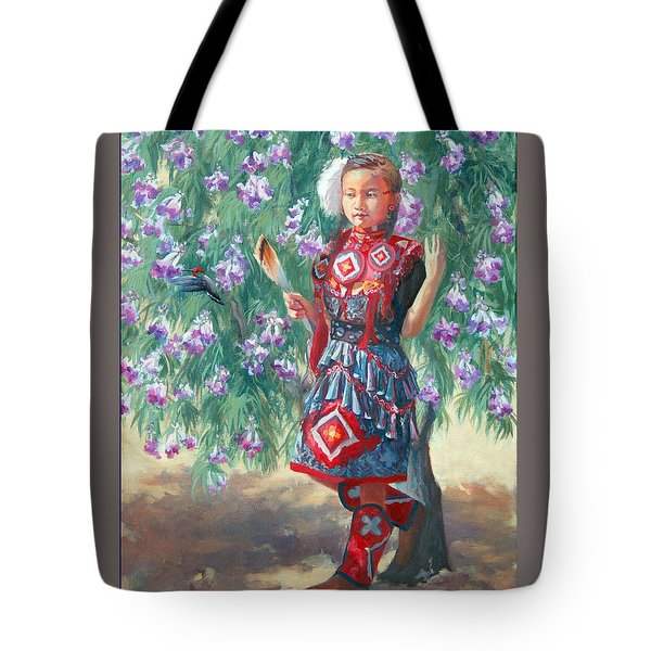 Desert Willow Tote Bag