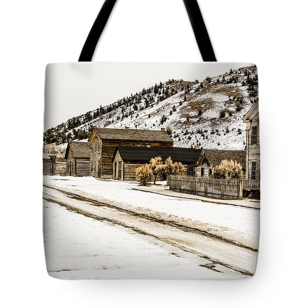 Deserted Street Tote Bag by Sue Smith