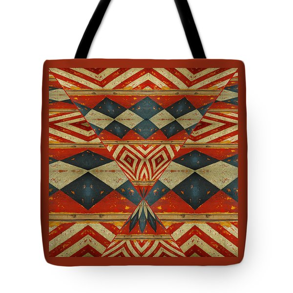 Design 1 -native Inspired Tote Bag by Jeff Burgess