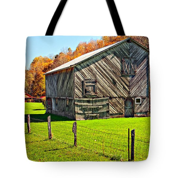 Designer Barn Tote Bag by Steve Harrington