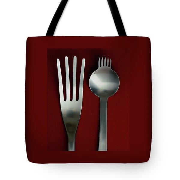 Designer Cutlery Tote Bag