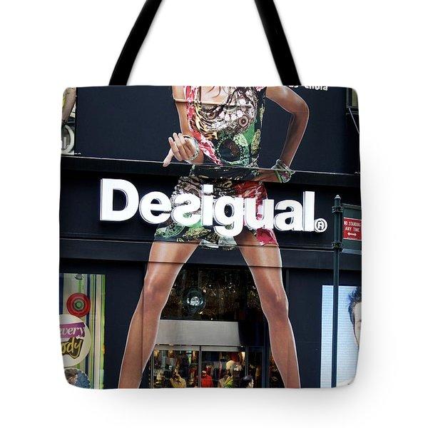Desigual Storefront Tote Bag