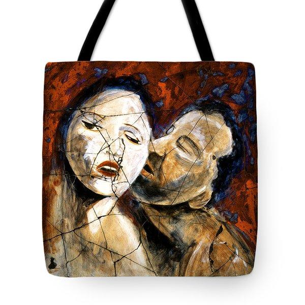 Desire - Study No. 2 Tote Bag by Steve Bogdanoff