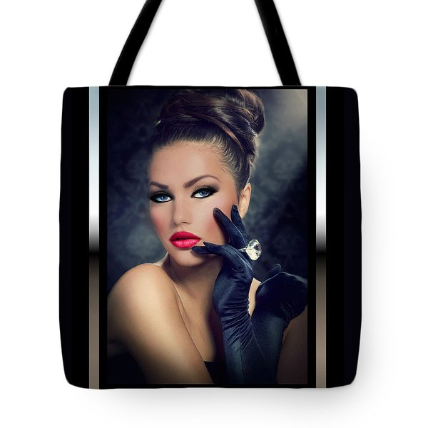 Tote Bag featuring the digital art Desired by Karen Showell