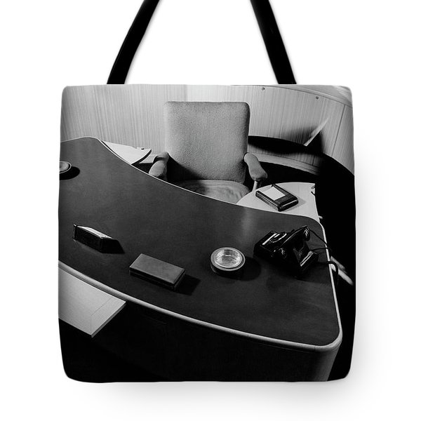 Desk By Industrial Designer Alexander Girard Tote Bag