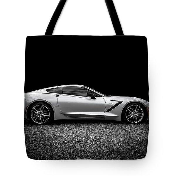2014 Corvette Stingray Tote Bag