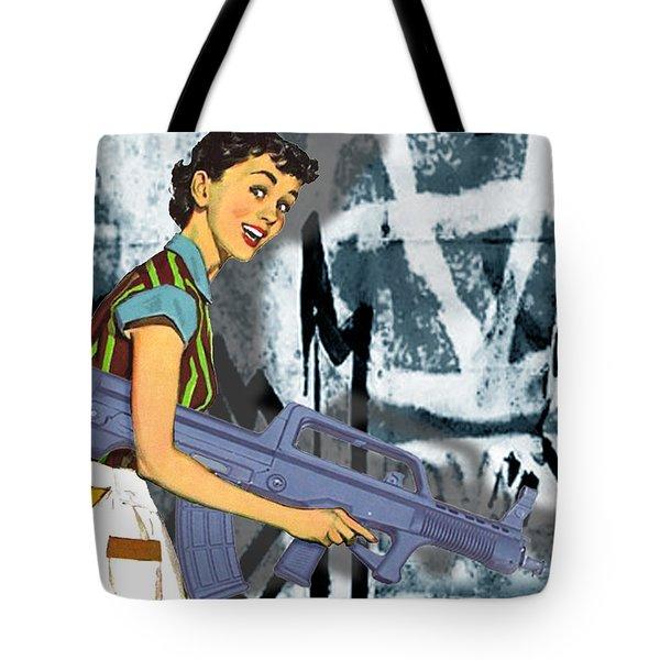 Desperate Housewife Tote Bag by Tony Rubino