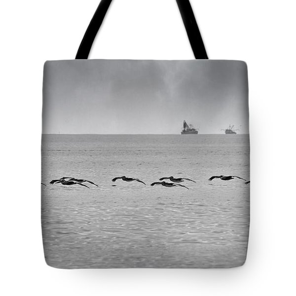 Destination Tote Bag by Betsy Knapp
