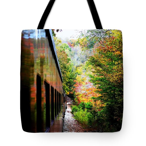 Tote Bag featuring the photograph Destination by Faith Williams