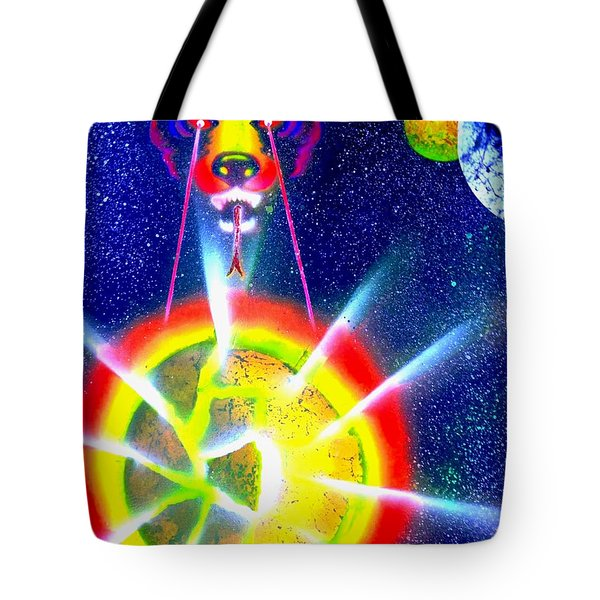 Destroyer Tote Bag by Drew Goehring