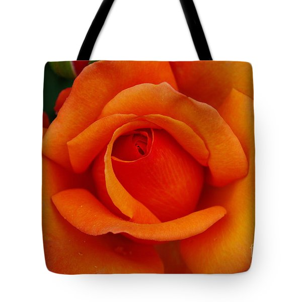 Tote Bag featuring the photograph Detail In Orange by John S