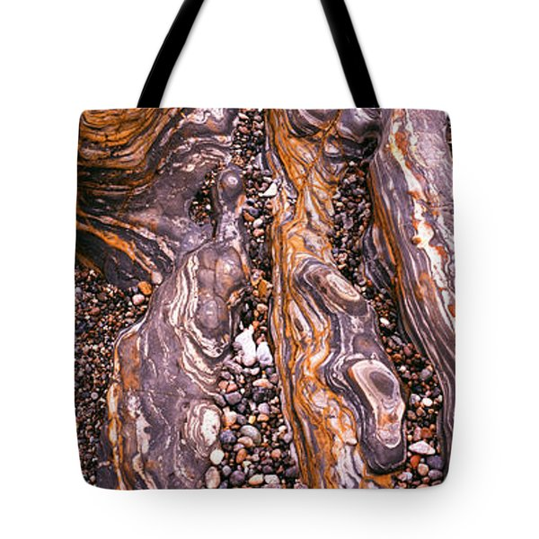 Detail Study Of Erosion Patterns Tote Bag