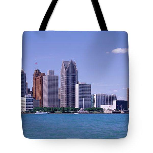 Detroit Mi Usa Tote Bag