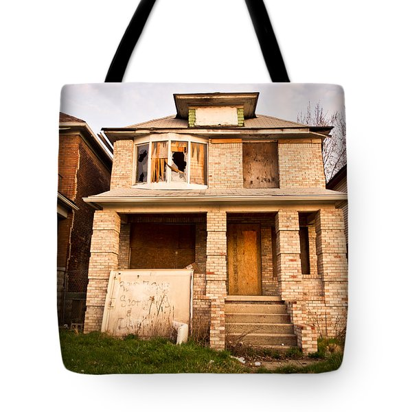 Detroit Neighborhood Tote Bag