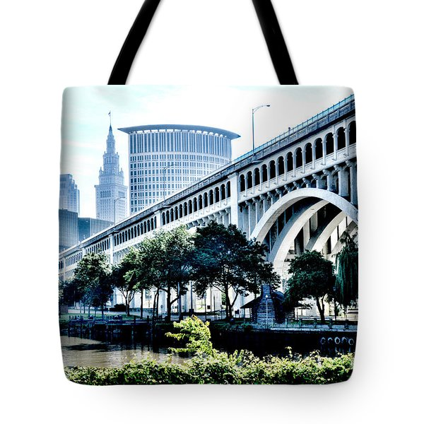 Detroit-superior Bridge - Cleveland Ohio - 1 Tote Bag