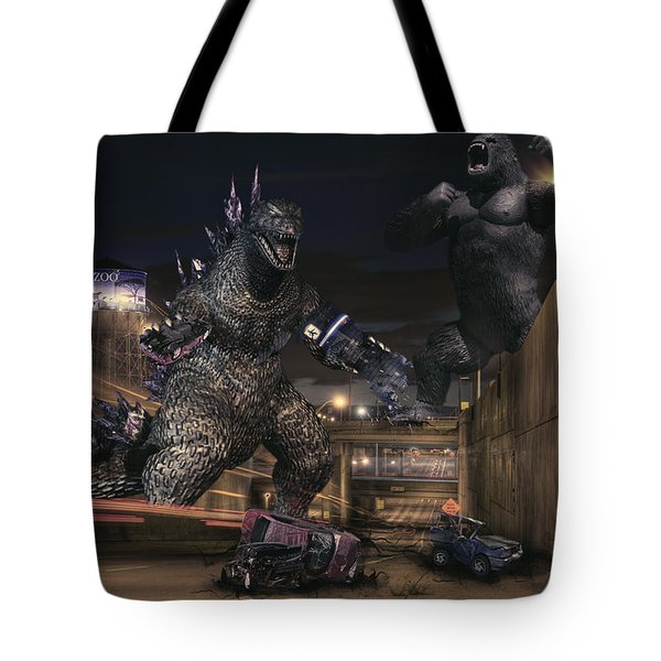 Detroits Zoo Tote Bag