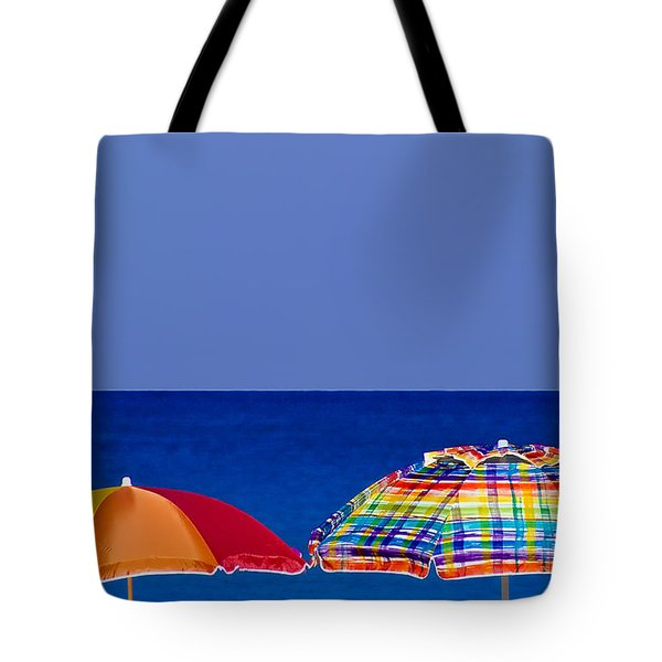 Deuce Umbrellas Tote Bag