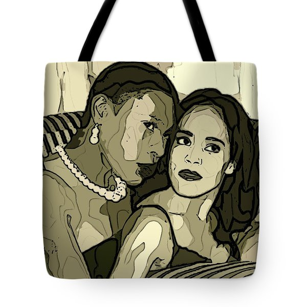 Tote Bag featuring the photograph Deux by Alice Gipson