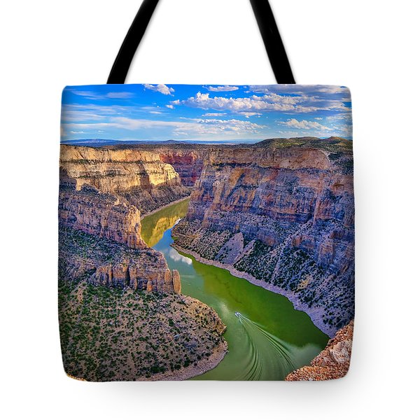 Devil's Canyon Overlook Tote Bag