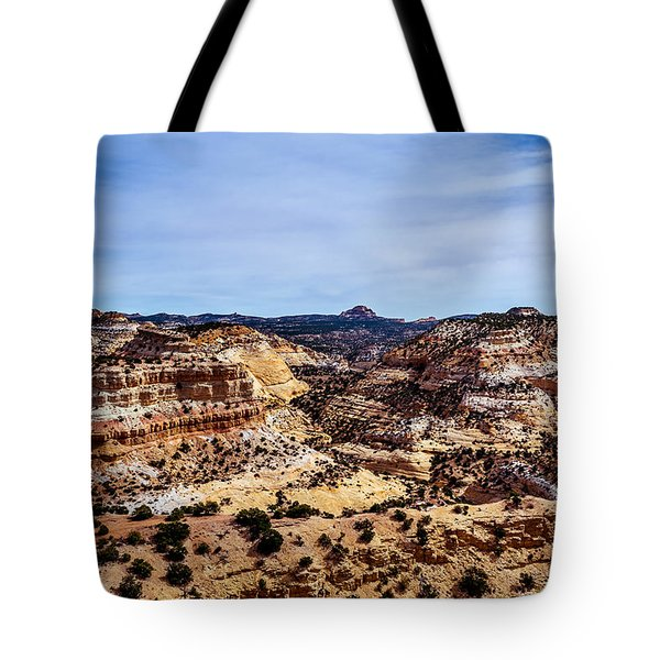 Devil's Canyon Tote Bag