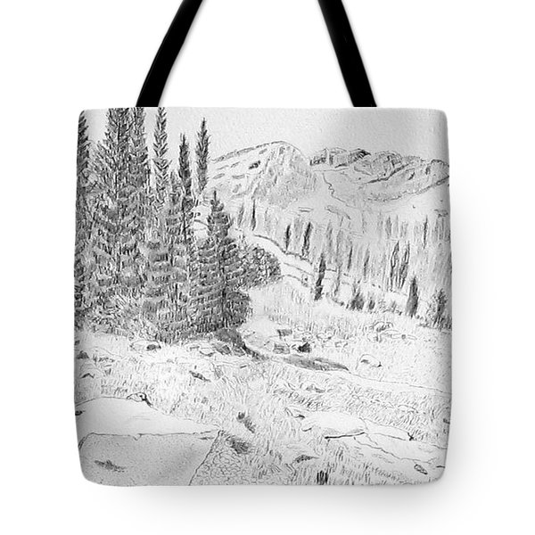 Devil's Castle Tote Bag