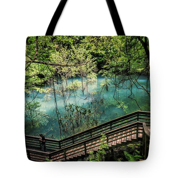 Devil's Millhopper Tote Bag