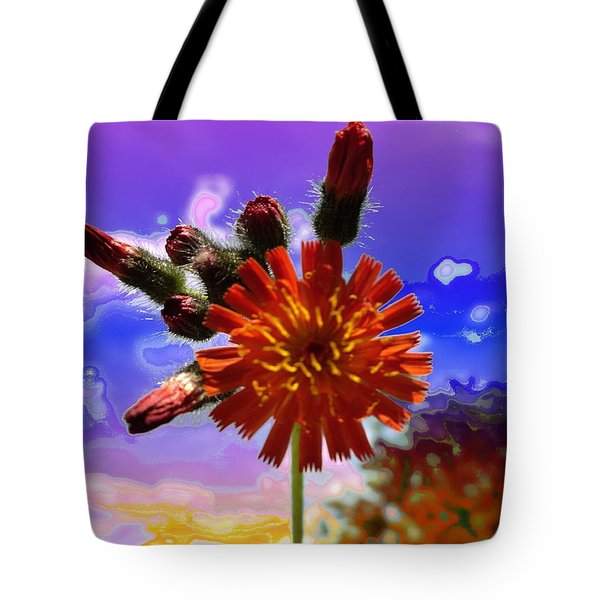 Devil's Paintbrush Tote Bag
