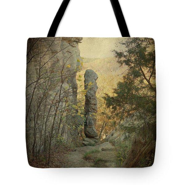 Devil's Smokestack Tote Bag