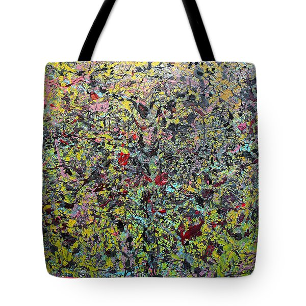 Tote Bag featuring the painting Devisolum by Ryan Demaree