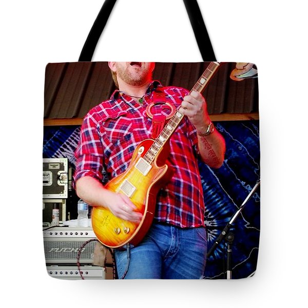 Devon Allman Tote Bag by Angela Murray