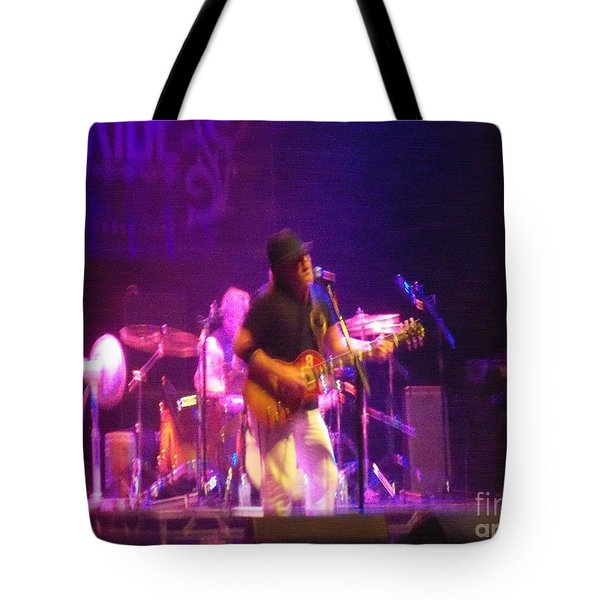 Tote Bag featuring the photograph Devon Allman by Kelly Awad