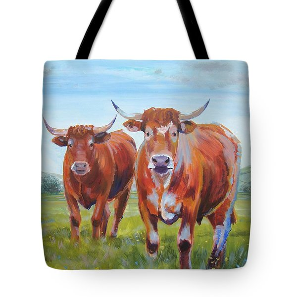 Devon Cattle Tote Bag